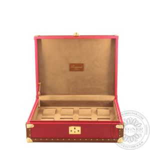 Eight Classic Watch Box, Red