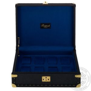 Eight Classic Watch Box, Navy Blue