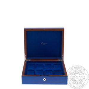 Heritage Blue 8 Watch Box