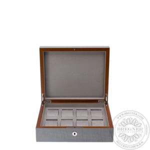 Heritage Grey 8 Watch Box
