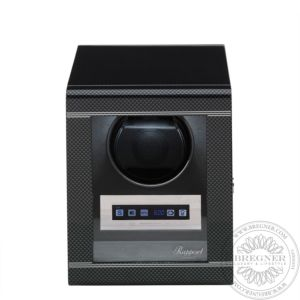 Formula Single Watch Winder Carbon Fibre