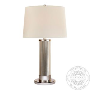 Allen Table Lamp In Polished Nickel