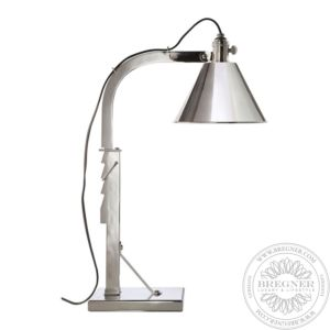 Ashcroft Table Lamp In Polished Nickel