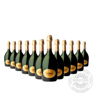 Champange R de Ruinart in gift box, Set 12x0,375L