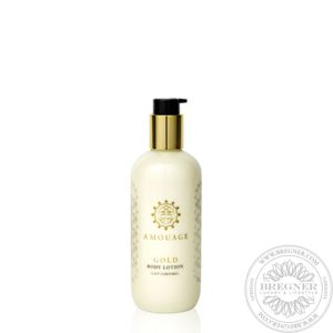 Gold Woman Body Lotion