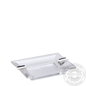Rectangular Ashtray with 2 rests 19 x 16 cm