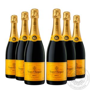 Champange Brut in gift box, Set 6x0,75L