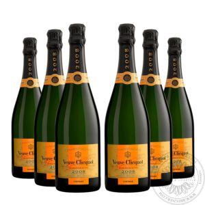 Champange Vintage 2008 in gift box, Set 6x0,75L
