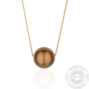 Necklace Golden Brown
